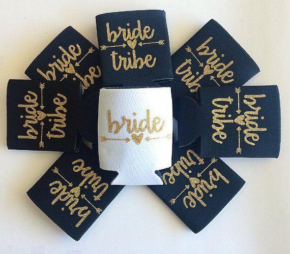 Bride tribe koozies