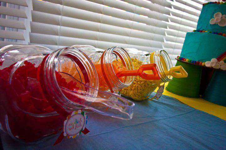 Candy Buffets:  Yummmmmmmmy