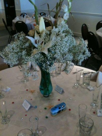 Flower centerpice