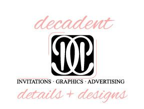 decadent details new logo