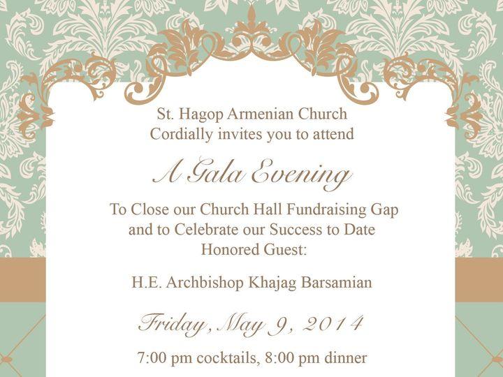 Tmx 1437012865157 684970 St Hagop Gala Invite Proofrev2 Brandon wedding invitation
