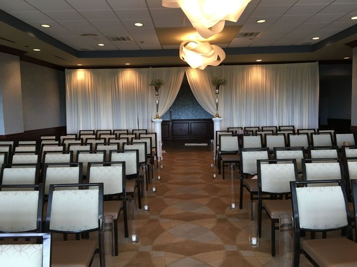 Tmx 1524153123 378b93ec4c466d7b 1524153120 2bc56117764e9efc 1524153119491 13 Ceremony Draping Chesapeake, Virginia wedding rental