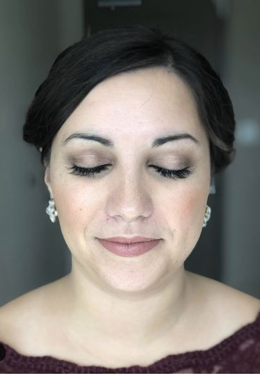 Soft makeup look