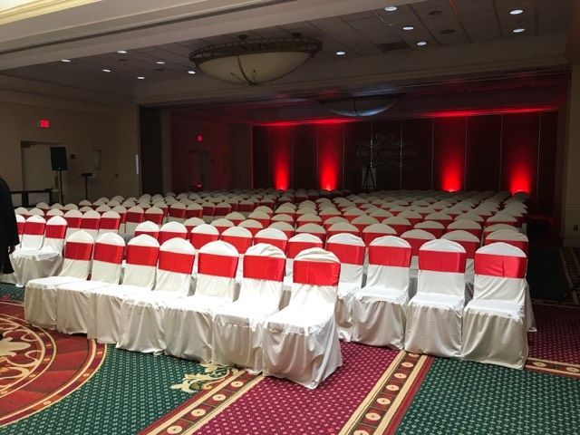 All of our packages offer complimentary chair covers and sashes. Receive a site tour, and stop by...