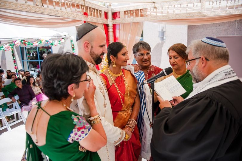 Indian/Jewish wedding