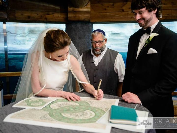 Tmx 1507567928099 Carter And Evan Ketubah Atlanta wedding officiant