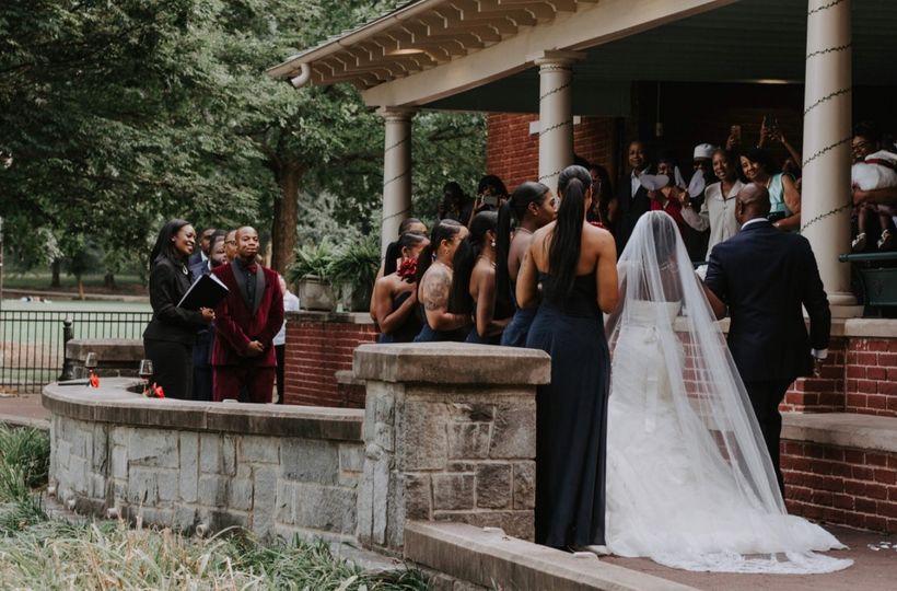 Entrance of the Bride