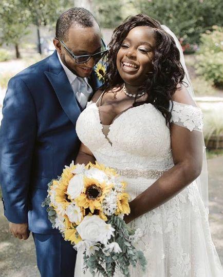 My beautiful Fall Bride