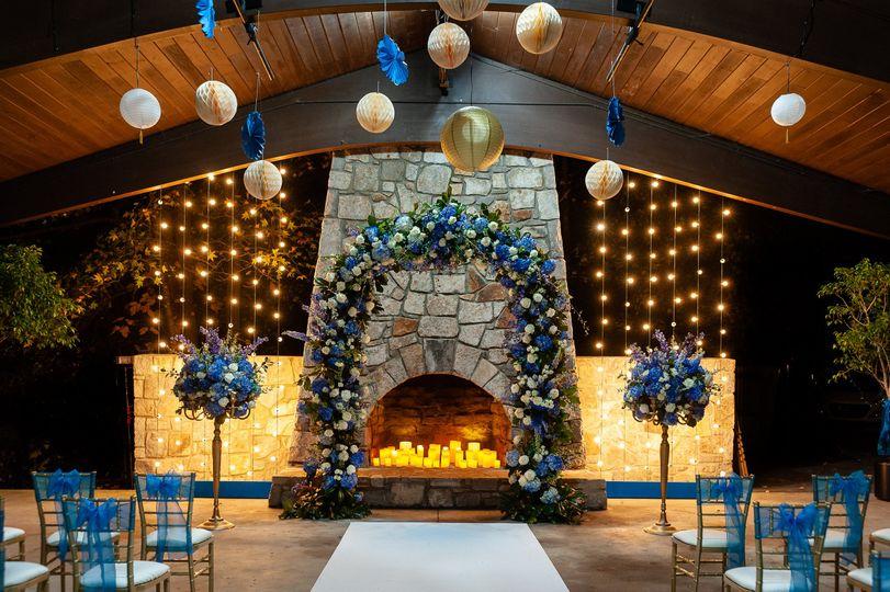 Lakeside Pavilion - Fireplace