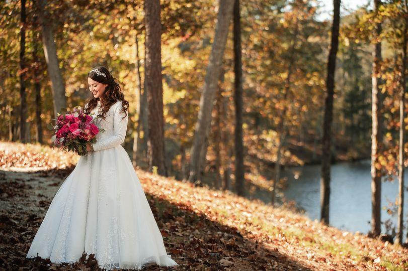 Lakeside Bridal Portraits