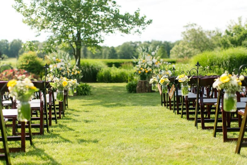 Outdoor Ceremony Site Photo by Kristi McKeag