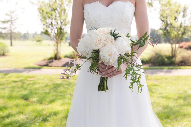 White wedding dress | Photo taken by Marirosa Photography