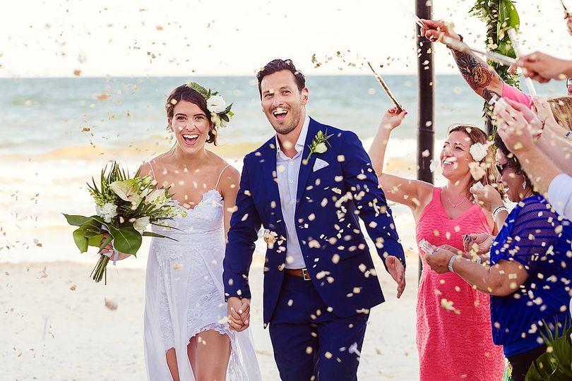 s j tulum boho chic beach wedding