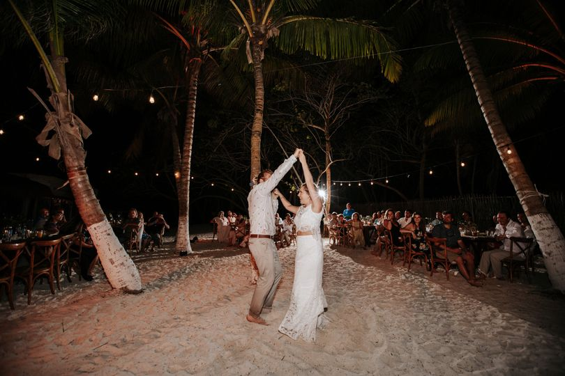 Tulum boho wedding