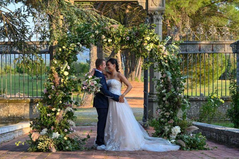 Romantic symbolic ceremony