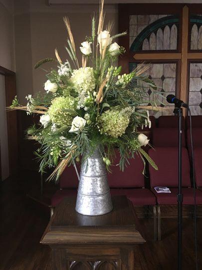 Church florals