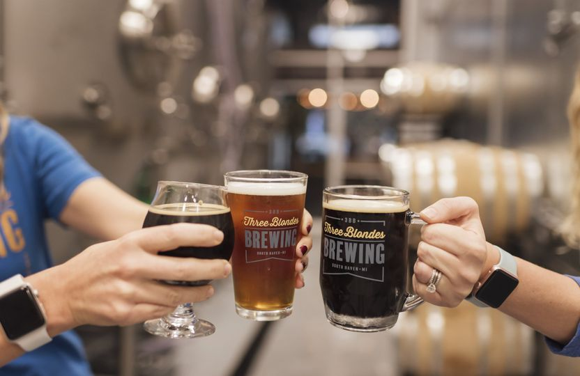 beer cheers in brewery 51 1039325