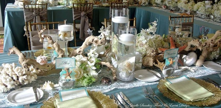 Intimate reception sand pearl