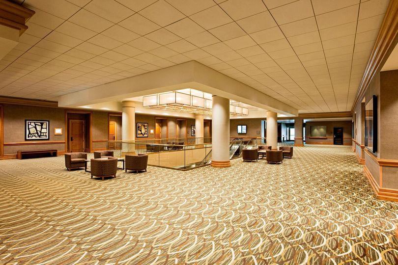 Grand Ballroom pre-function space