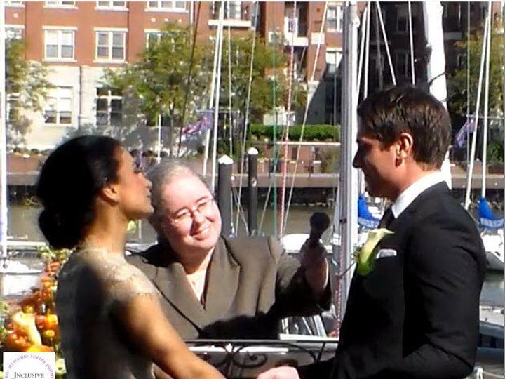 Tmx 1395449240428 Inclusive Ceremonies Wedding Couple  Loch Sheldrake, New York wedding officiant