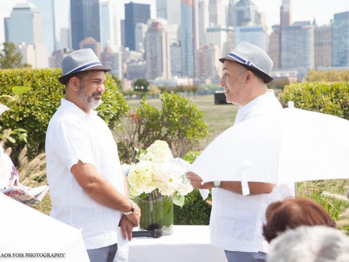 Tmx 1462130758180 Bruce And Marcos At Liberty House Loch Sheldrake, New York wedding officiant
