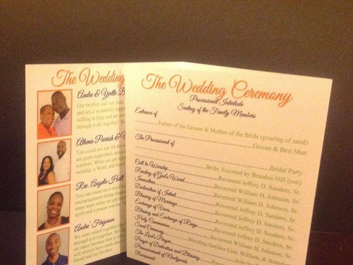 Tmx 1401027534334 Inside Flap Program Johnso Baltimore wedding invitation