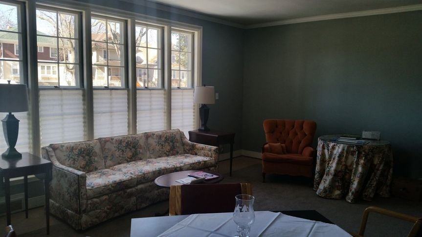 Our beautiful parlor.