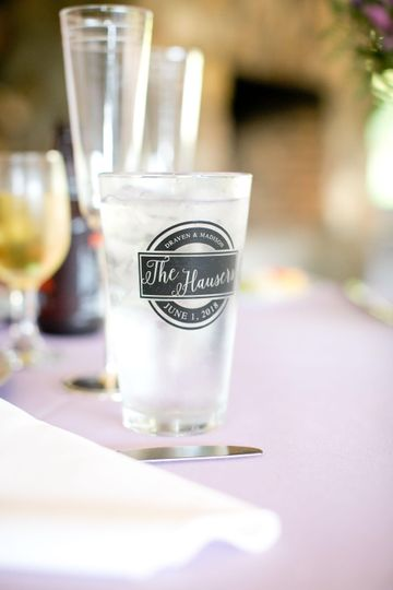The hauser pint glass