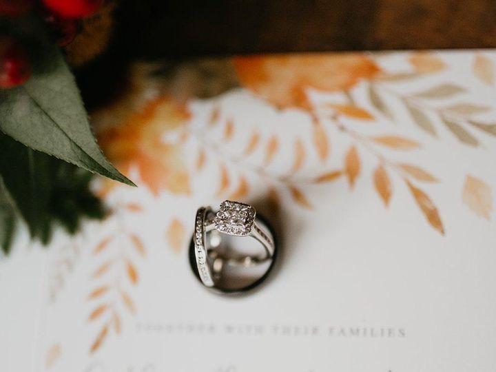 Tmx Caitlin Aaron Katie Whalen Photography 1 51 1061425 158119141077235 Statesville, NC wedding invitation