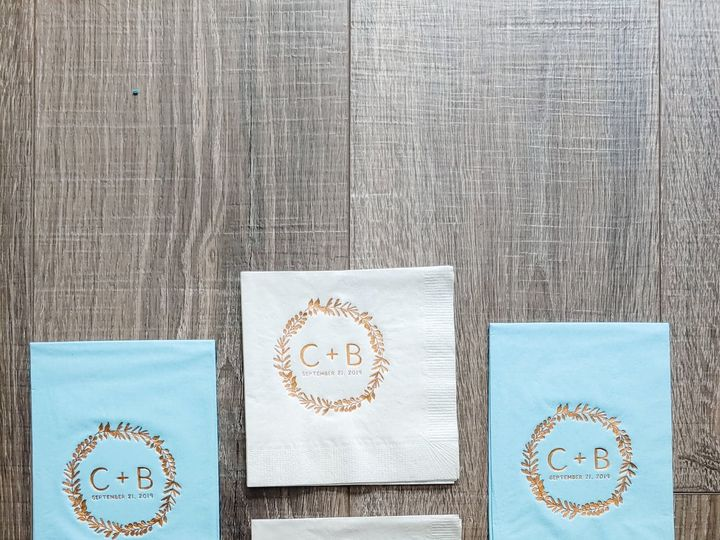 Tmx Casey Ans Brian Napkins And Guest Towels 51 1061425 158119141411144 Statesville, NC wedding invitation