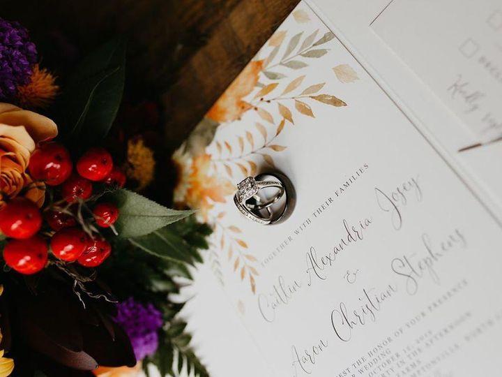 Tmx Img 20191210 111843 426 Katie Whalen Photography 51 1061425 158119141024594 Statesville, NC wedding invitation