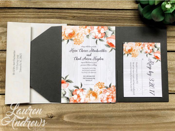 Tmx Kara 51 1061425 1560952194 Statesville, NC wedding invitation