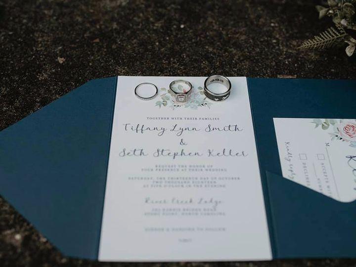 Tmx Katie Whalen Photography Tiffany Invitation 51 1061425 1556740135 Statesville, NC wedding invitation