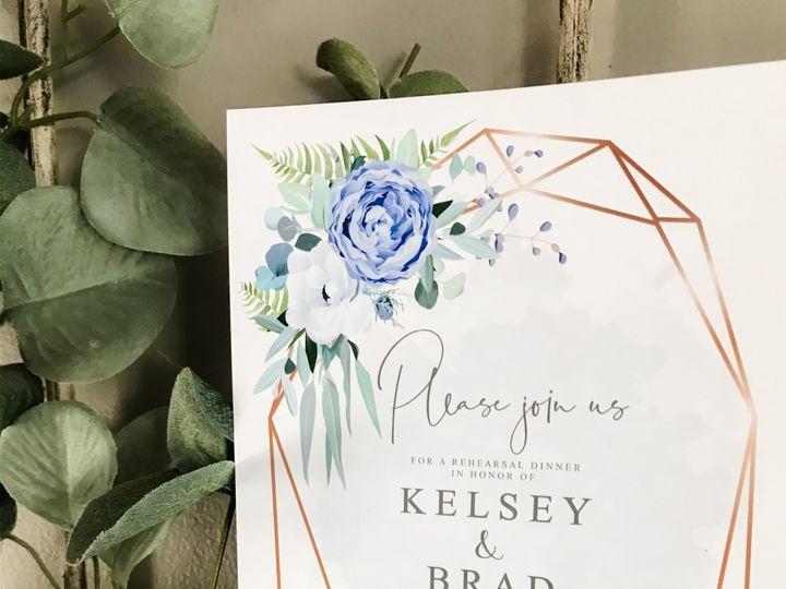 Tmx Kelsey And Brad Rehearsal Dinner Invitations Lad 51 1061425 158119141885260 Statesville, NC wedding invitation