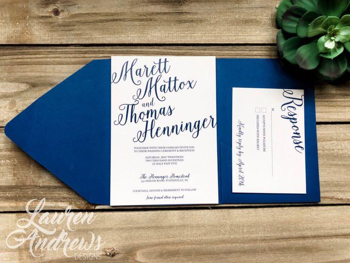 Tmx Marett 51 1061425 1560952194 Statesville, NC wedding invitation