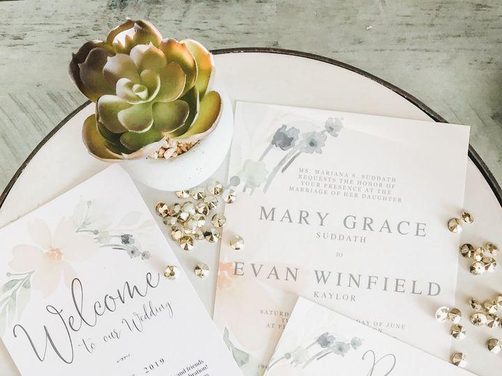 Tmx Mary Grace Evan Invitation Program 51 1061425 158119141856118 Statesville, NC wedding invitation