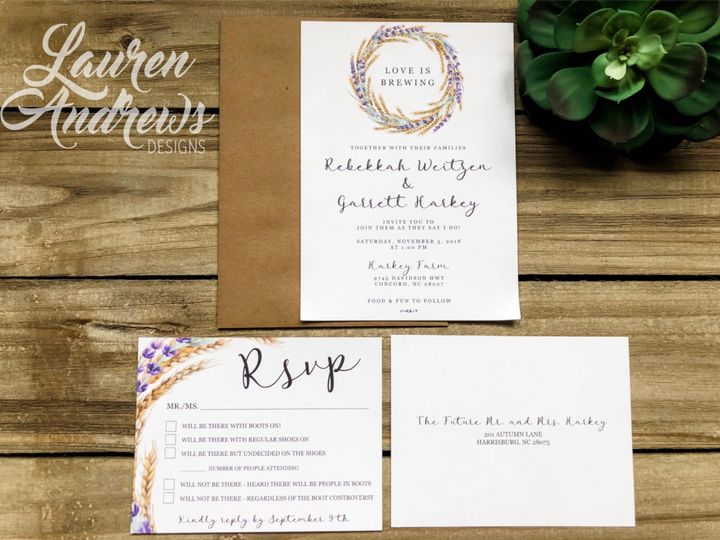 Tmx Rebekkah 51 1061425 1560952179 Statesville, NC wedding invitation
