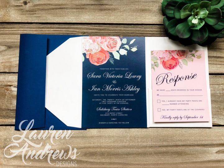 Tmx Sara 51 1061425 1560952179 Statesville, NC wedding invitation
