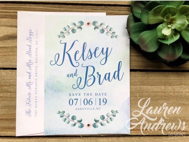 Tmx The Brad 51 1061425 1560952179 Statesville, NC wedding invitation