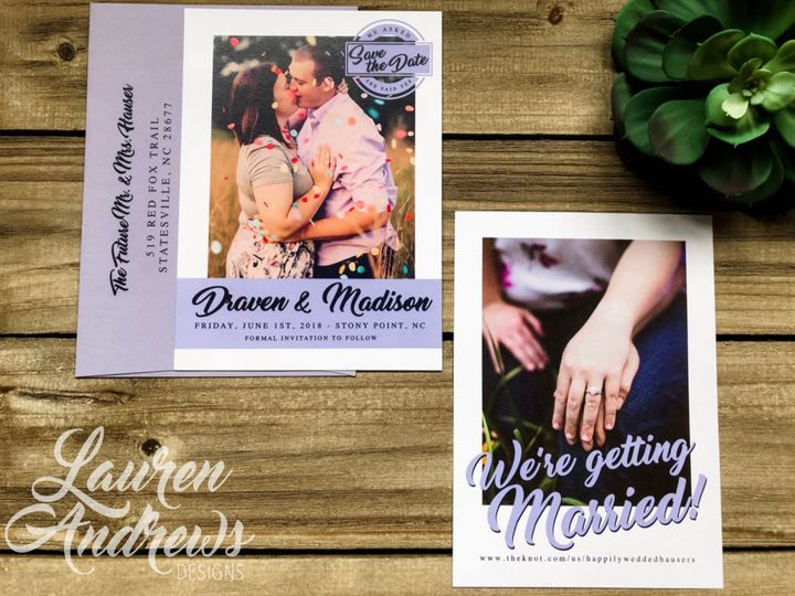 Tmx The Draven 51 1061425 1560952183 Statesville, NC wedding invitation