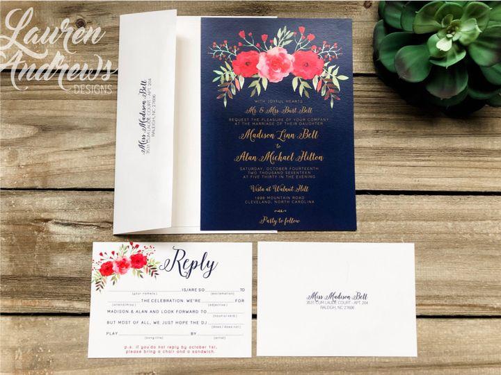 Tmx The Madison 51 1061425 1560952186 Statesville, NC wedding invitation