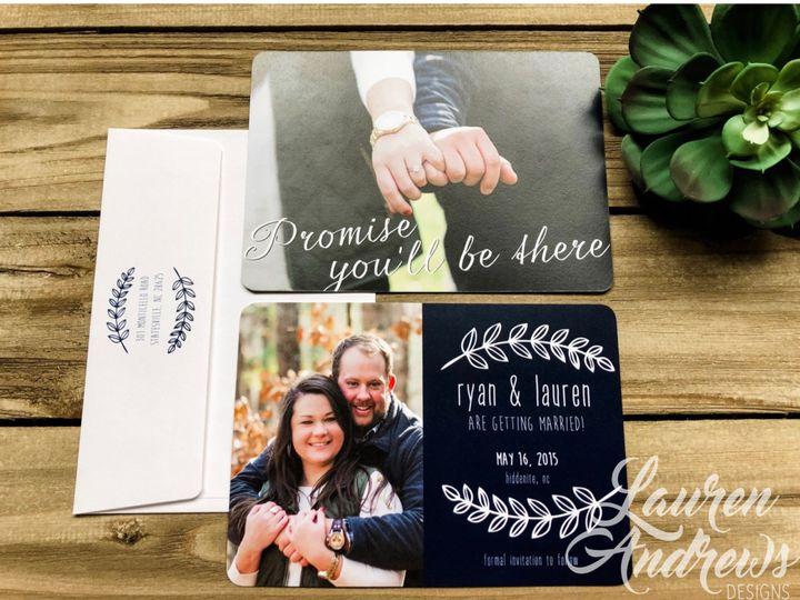 Tmx The Ryan 51 1061425 1560952188 Statesville, NC wedding invitation
