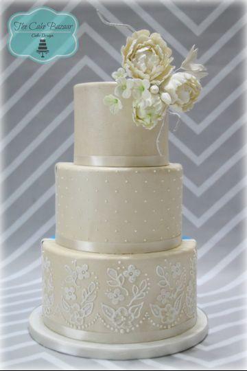 shimmer champagne cake logo 16