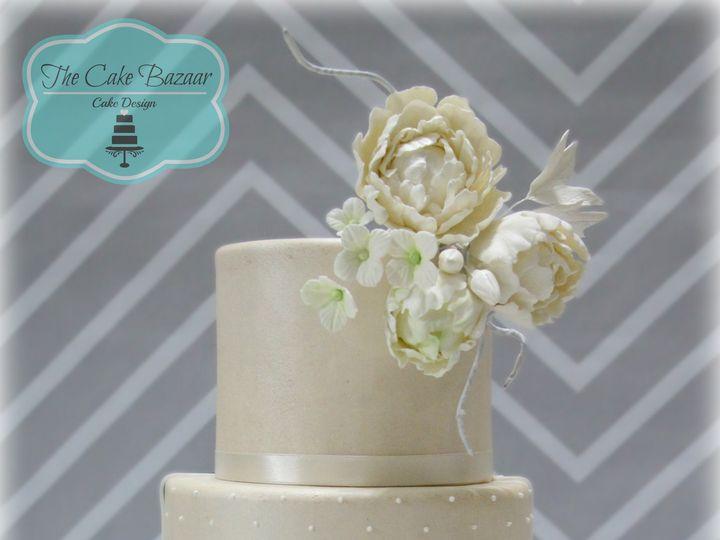 Tmx 1468254023405 Shimmer Champagne Cake Logo 16 Pharr wedding cake