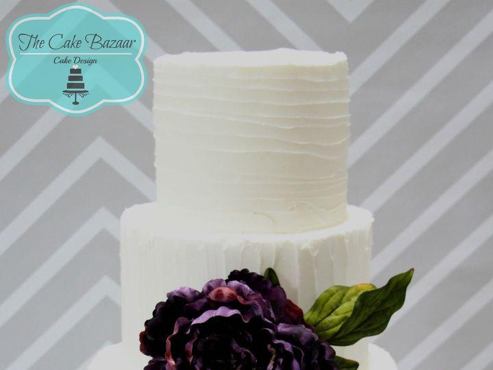 Tmx 1468254023800 Bc Purpl Flowr Cake Logo 16 Pharr wedding cake