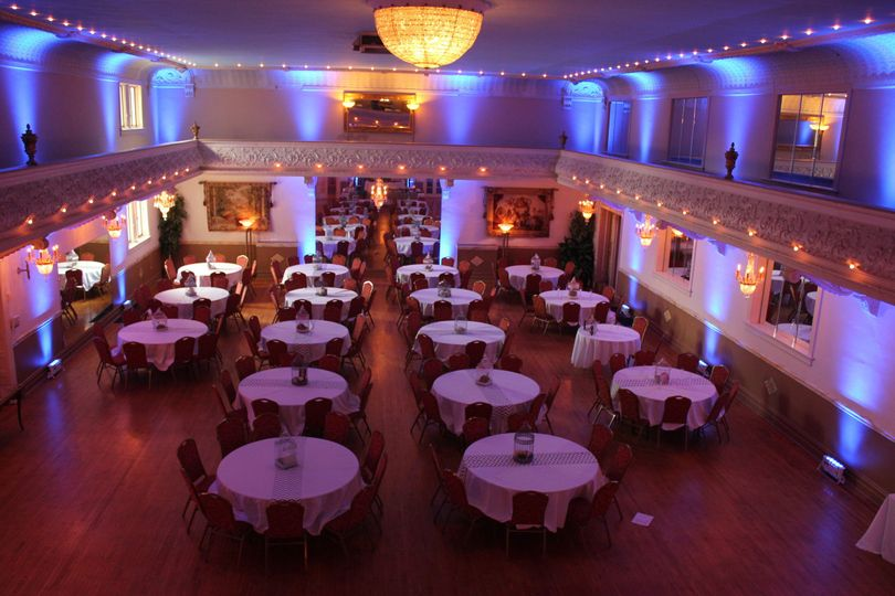 Mahler Ballroom Uplighting