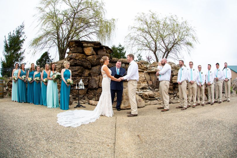 Hidden Lake Winery Officiant