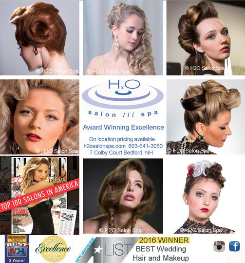 H2O Salon Spa - Beauty & Health - bedford, NH - WeddingWire
