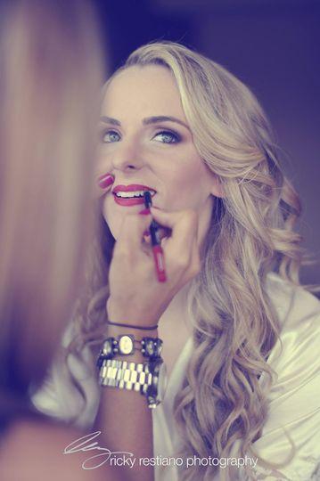 christina drake make up shot