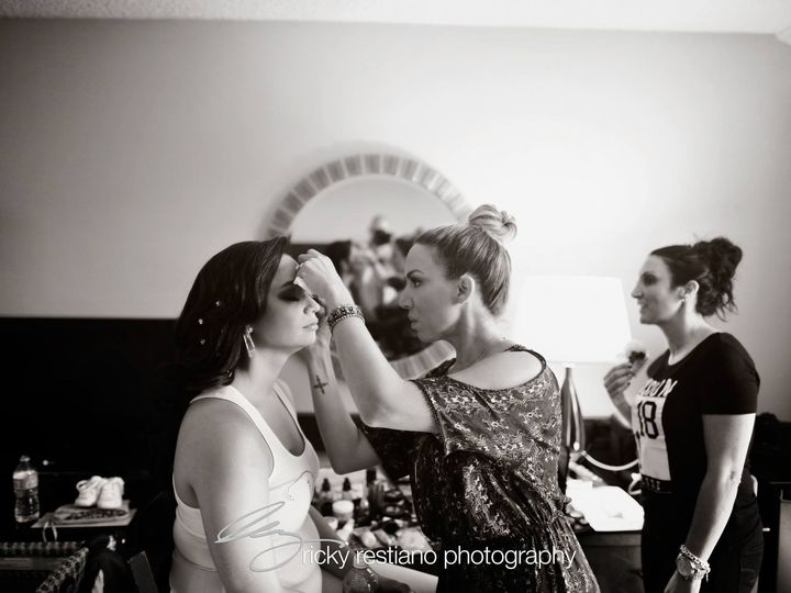 Tmx 1445093173837 Angela Make Up Shot In Action Eastchester wedding beauty